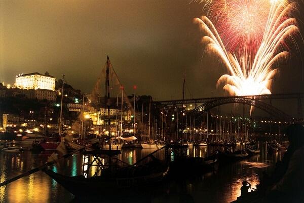 Porto New Year's Fireworks