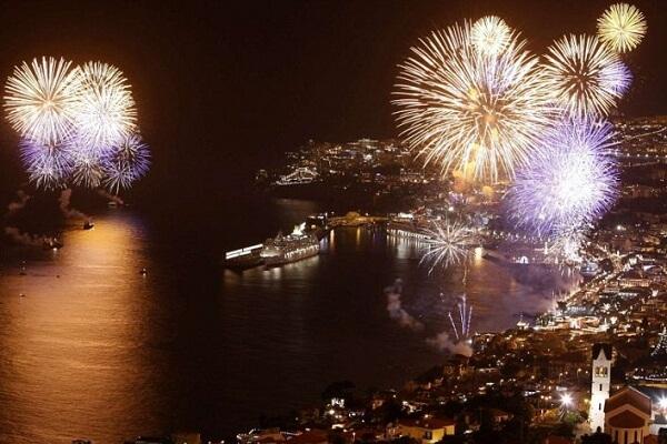 Madeira Islands New Years Eve Fireworks