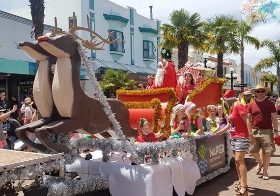 Christmas 2018 Napier: Events, Parade, How to Spend, and Things to Do