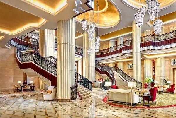 Interior of St Regis Abu Dhabi