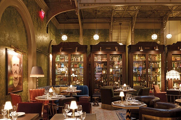 Interiors of Beekman Hotel, NYC