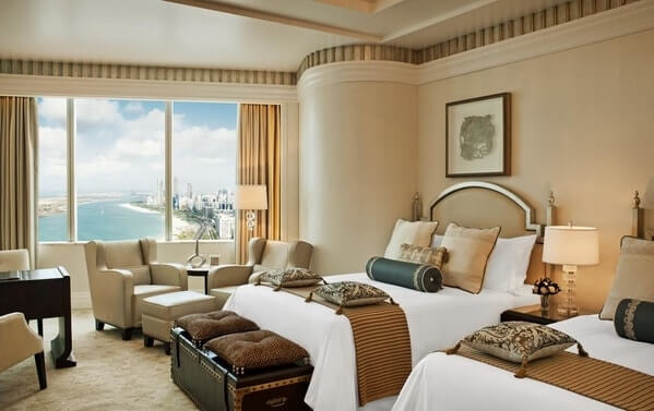Room at The St. Regis Hotel, Abu Dhabi