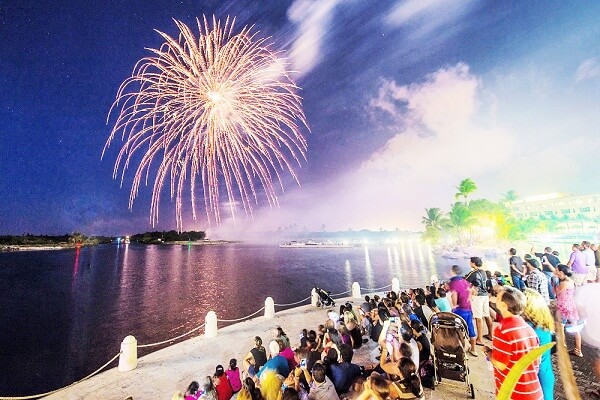 Cayman Islands New Years Eve Fireworks
