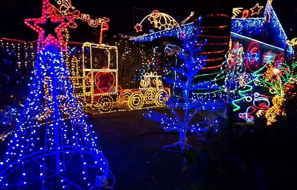 Christmas Lights in Hastings NZ