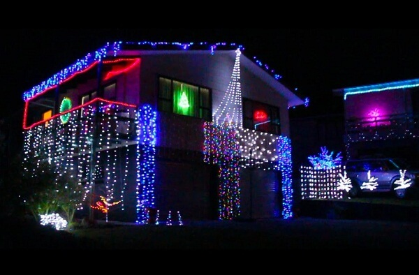 Christmas Lights, Gisborne NZ