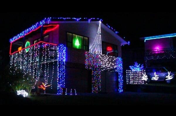 Christmas Lights, Gisborne NZ