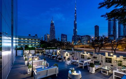 Dusit Thani Dubai Burj Khalifa View