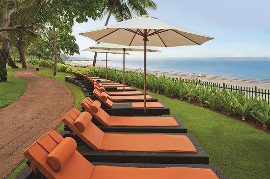 Exterior Seating at Grand Hyatt Goa
