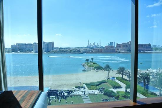 Best View from Fairmont Bab Al Bahr Abu Dhabi