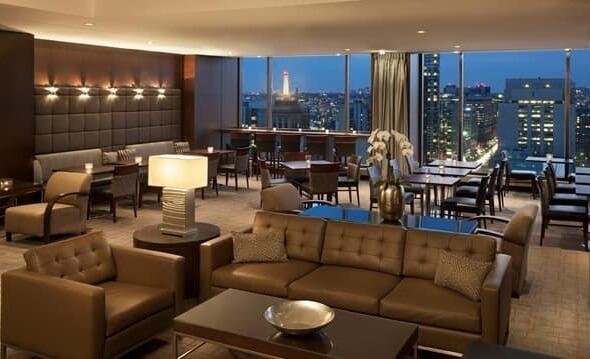 Executive Lounge at Hilton Toronto