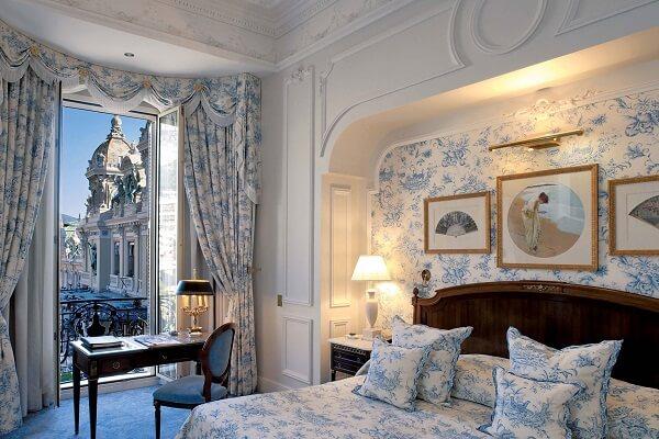 Beautiful Room of Hotel de Paris Monaco