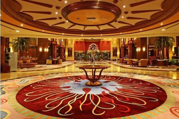 Hotel Lobby at Al Raha Beach Hotel, Abu Dhabi