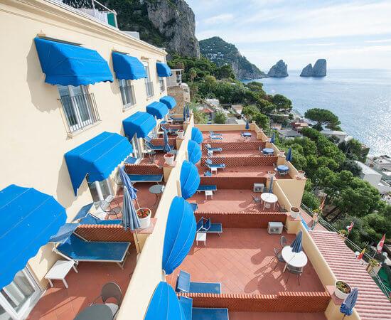 Hotel Weber Ambassador Capri Italy