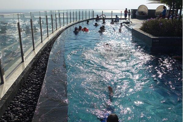 Swimming Pool on Top Floors @ Abu Dhabi Hyatt Capital Gate