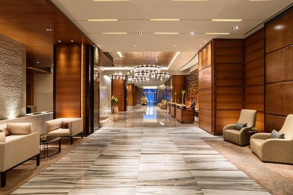 Interior Entrance At Rosewood Abu Dhabi