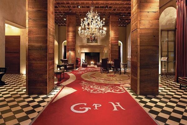 Lobby of Gramercy Park Hotel New York
