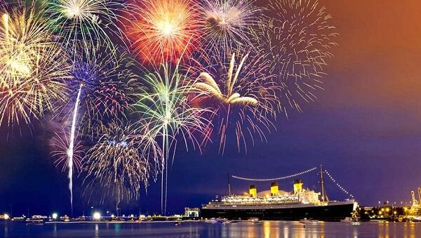 Long Beach New Year Fireworks