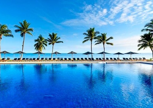 Main Pool at Hilton Fiji