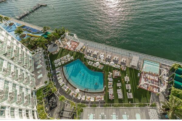 Mondrian South Beach Hotel Miami