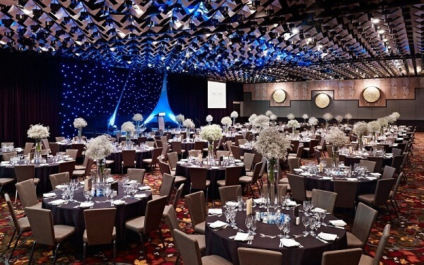 Ballroom at Sofitel Melbourne on Collins