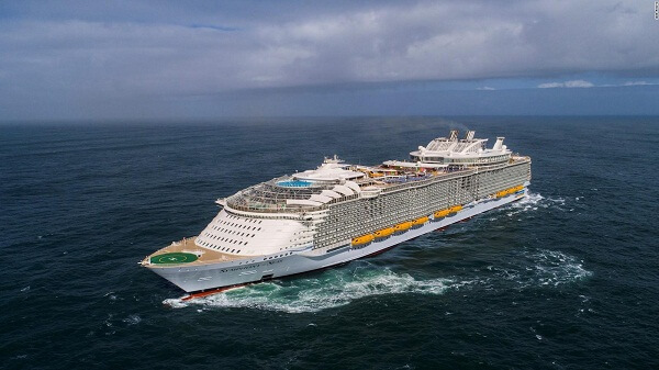 Symphony of the Seas Maiden Voyage