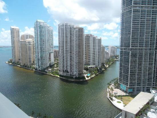 View From Pool, JW Marriott Marquis Miami