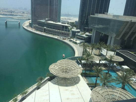 View From Room at Rosewood Abu Dhabi