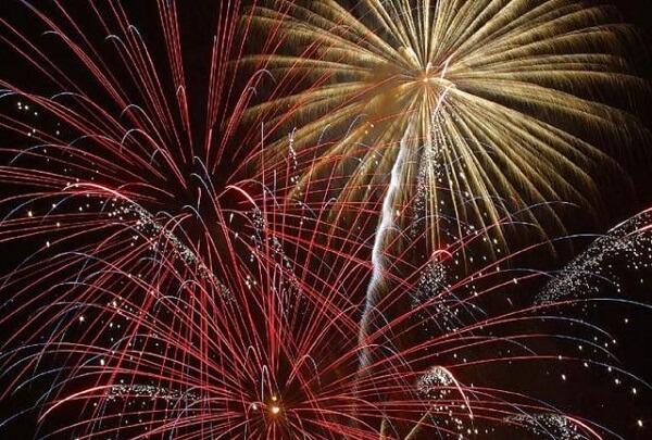 Harrisburg PA New Year Fireworks
