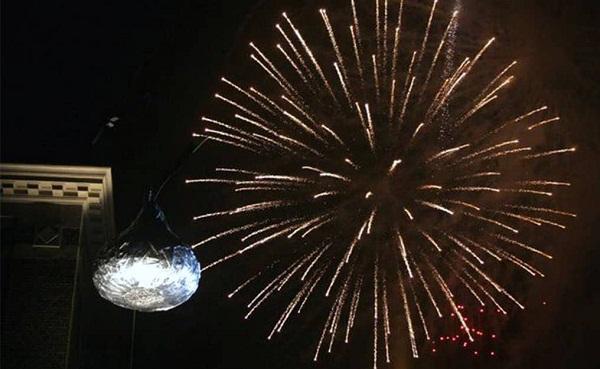 Hershey PA New Year Fireworks