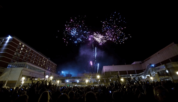 Lancaster PA New Year Fireworks