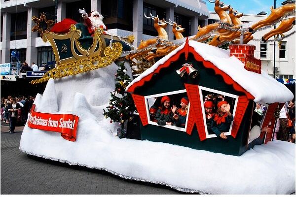 Christmas Celebrations in Dunedin
