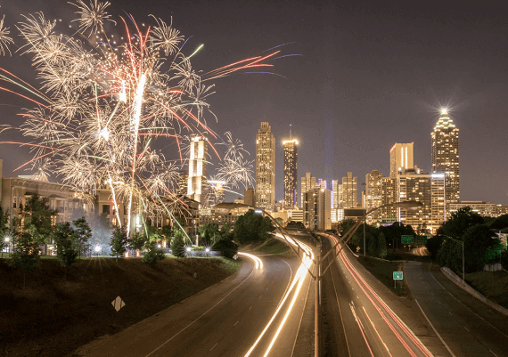 Atlanta New Years Eve Fireworks 2020: Best Places to Watch Fireworks, and Live Streaming Tips