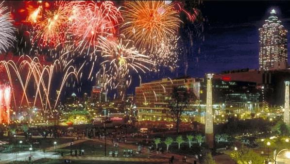 Atlanta New Years Eve Fireworks