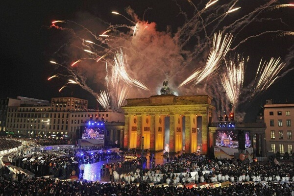 Berlin New Years Eve Fireworks