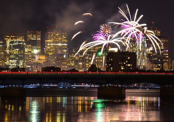 Boston New Years Eve Fireworks 2020: Best Places to Watch Fireworks, and Live Streaming Tips
