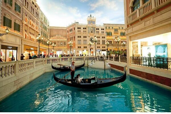 Canal at Venetian Macao