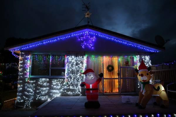 Christmas Lights in Invercargill