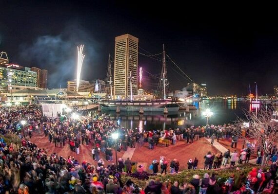 Baltimore New Years Eve Fireworks 2020: Best Places to Watch Fireworks, and Live Streaming Tips