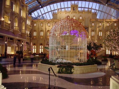 Interior of MGM Macau