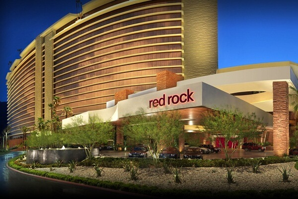 Outer View of Red Rock Casino Las Vegas