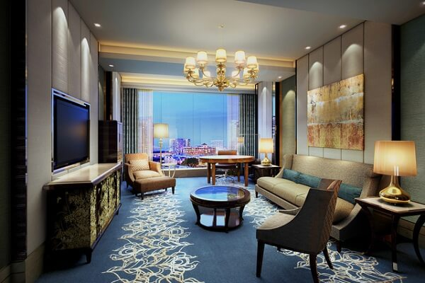 Living Room @ Shangri-La Hotel, Bengaluru