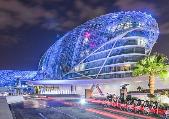 Yas Viceroy Abu Dhabi New Years Eve 2019-2020 Hotel Packages, Deals, Party, Event and Celebrations