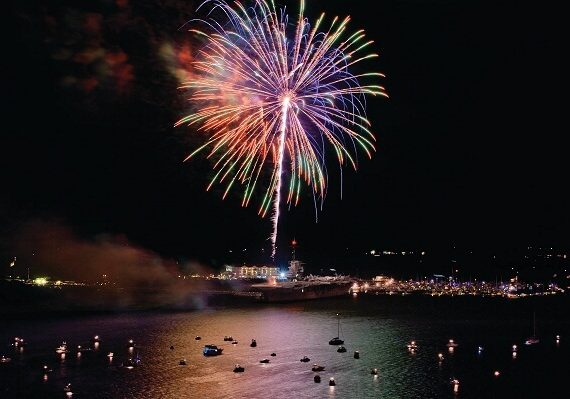 Charleston New Years Eve Fireworks 2020: Best Places to Watch Fireworks, and Live Streaming Tips