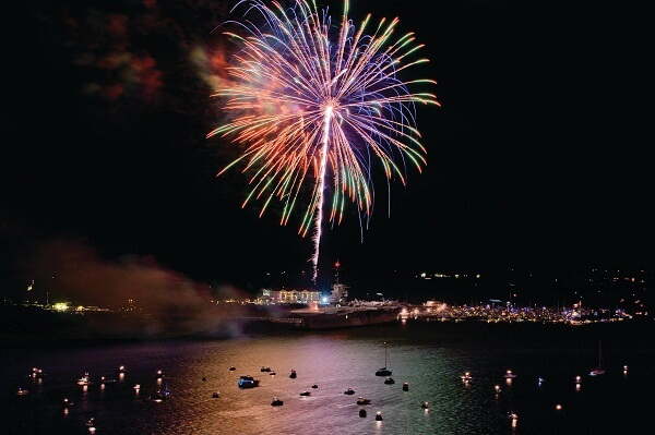 Charleston New Years Eve Fireworks