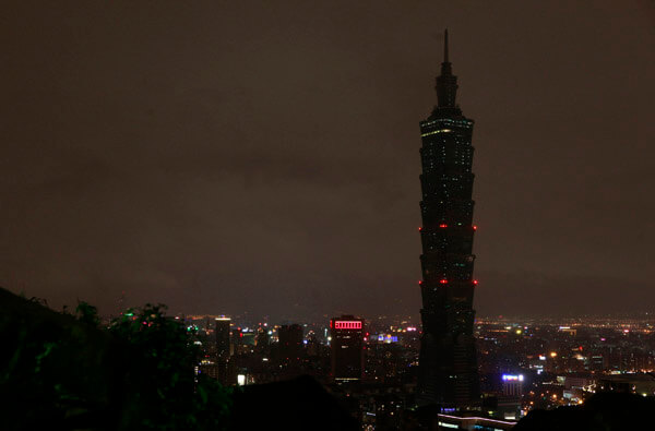 Earth Hour @ Taipei 101