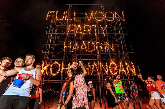Koh Phangan Full Moon Celebrations