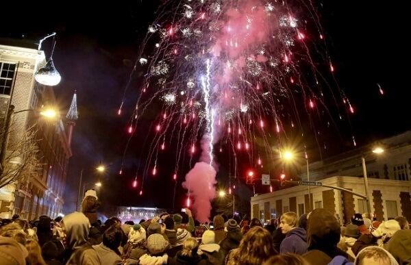 Hershey New Year Fireworks