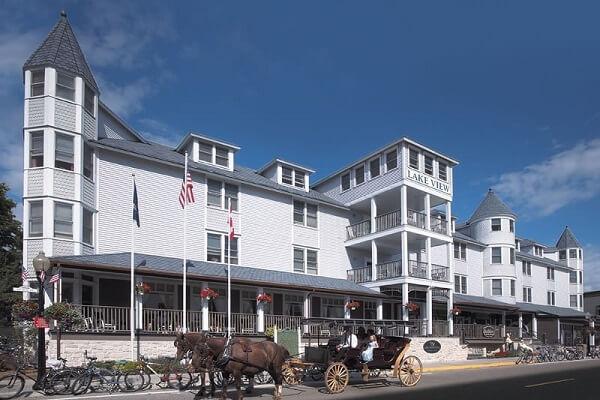 Lake View Hotel, Mackinac Island
