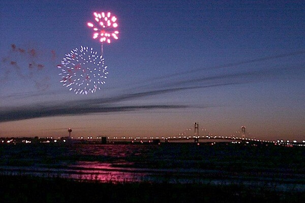 Mackinac Island New Year Fireworks