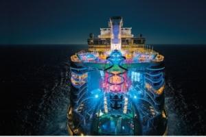 Harmony of the Seas at Night